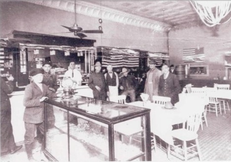 The Schell Cafe, Cooper, Texas 1918