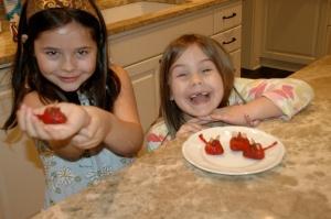 Strawberry Valentine Mice